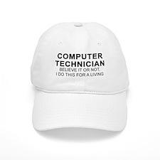Computer Tech Baseball Cap