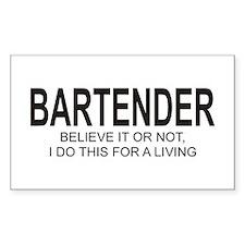 Bartender Rectangle Decal