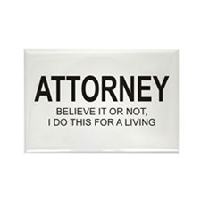 Attorney Rectangle Magnet
