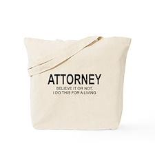 Attorney Tote Bag