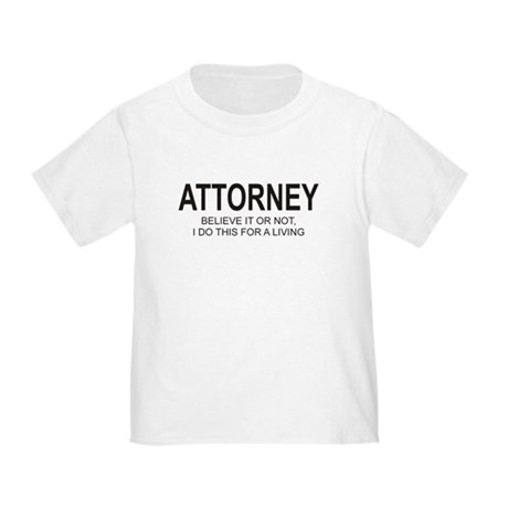 Attorney Toddler T-Shirt