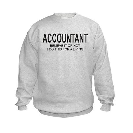 Accountant Kids Sweatshirt