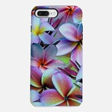 Rainbow Plumeria iPhone 7 Plus Tough Case