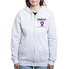 PancreaticCancerMom Zip Hoodie