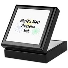 Personalized Bob Keepsake Box