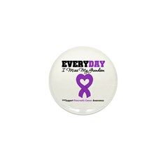 PancreaticCancerGrandson Mini Button (100 pack)