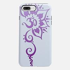 Rising Om - Purple Fade iPhone 7 Plus Tough Case