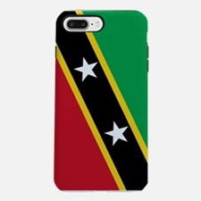 Saint Kitts and Nevis Fla iPhone 7 Plus Tough Case