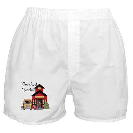 Preschool Teacher Boxer Shorts
