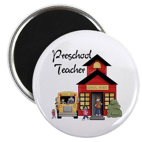 """Preschool Teacher 2.25"""" Magnet (10 pack)"""