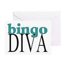 Bingo Diva Greeting Cards (Pk of 10)