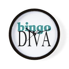 Bingo Diva Wall Clock