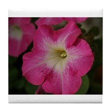 Cute Flower photography Tile Coaster
