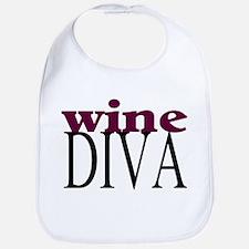 Wine Diva Bib