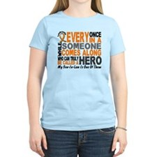 HERO Comes Along 1 Son-In-Law LEUK T-Shirt