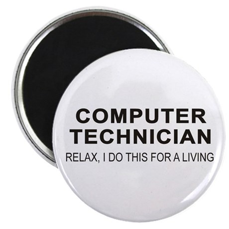"Computer Tech 2.25"" Magnet (100 pack)"
