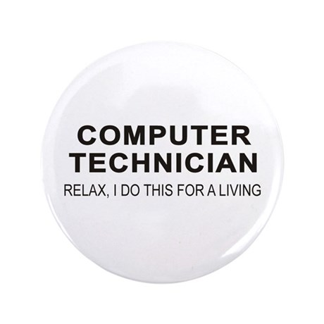 "Computer Tech 3.5"" Button"