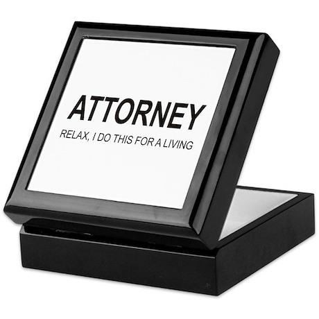 Attorney Keepsake Box