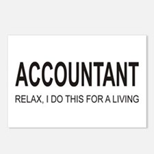 Accountant Postcards (Package of 8)