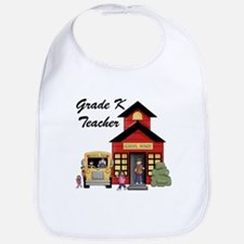 Grade K Teacher Bib
