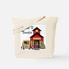 Grade K Teacher Tote Bag