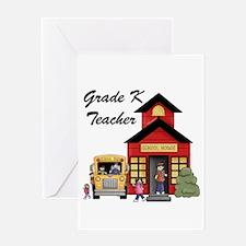 Grade K Teacher Greeting Card