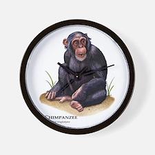 Chimpanzee Wall Clock