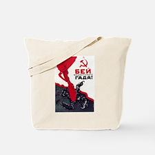 SMASH FACISM Tote Bag