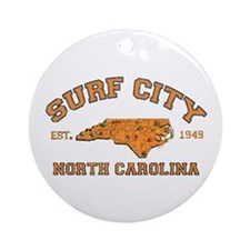 Surf City NC Ornament (Round)