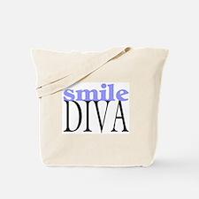 Smile Diva Tote Bag
