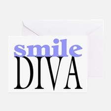 Smile Diva Greeting Cards (Pk of 10)