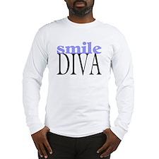 Smile Diva Long Sleeve T-Shirt