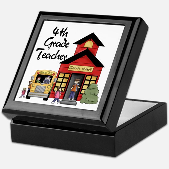 4th Grade Teacher Keepsake Box