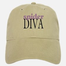 Spider Diva Baseball Baseball Cap