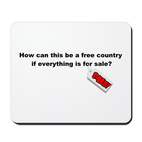 Country for Sale! Mousepad