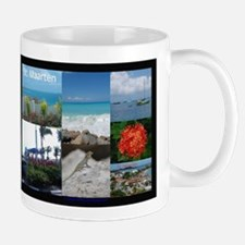 St. Maarten Collage by Khonce Mug