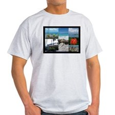 St. Maarten Collage by Khonce T-Shirt