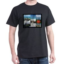 St. Maarten Collage by Khonce T-Shirt