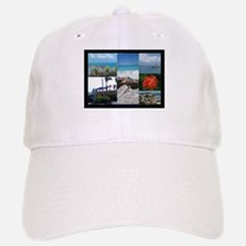 St. Maarten Collage by Khonce Baseball Baseball Cap