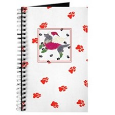 Gulliver's Angels Black Lab Red Journal