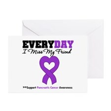 PancreaticCancerFriend Greeting Cards (Pk of 10)