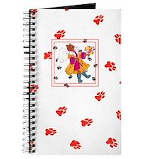 Gulliver's Angels Angelicat Red Journal