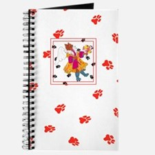 Gulliver's Angels Angelicat Red Journal