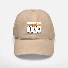 Pumpkin Diva Baseball Baseball Cap