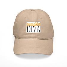 Pumpkin Diva Baseball Cap