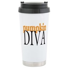 Pumpkin Diva Travel Mug