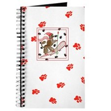 Gulliver's Angels Portuguese Water Dog Red Journal
