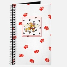 Gulliver's Angels English Bulldog Red Journal