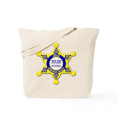 Major Matzaball Badge - Tote Bag