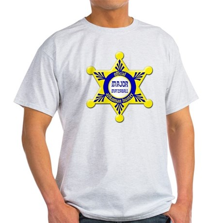 Major Matzaball Badge - Light T-Shirt